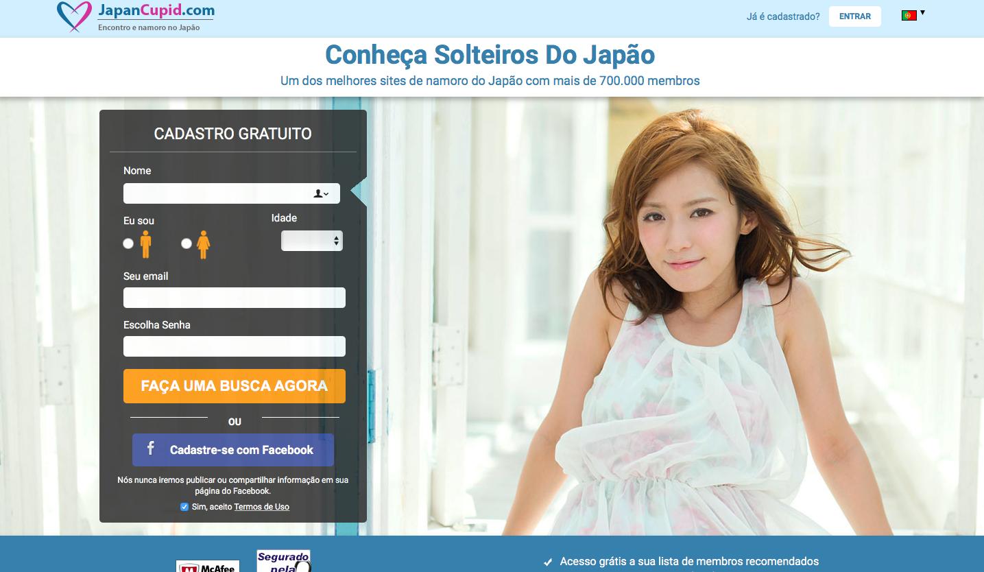 Página Para Encontrar Um Companheiro Em Japão-6799
